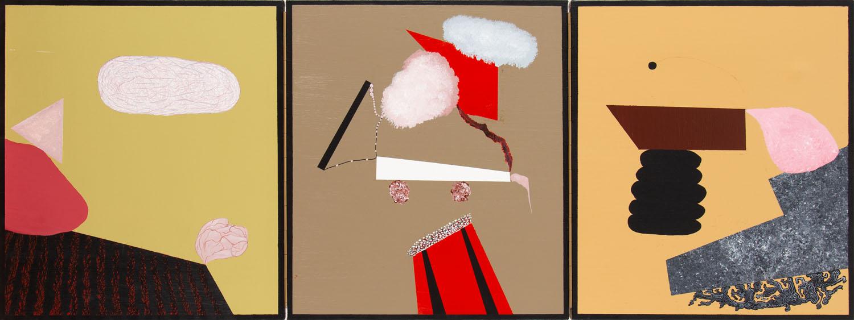 Tryptyk według Lucas'a Cranach'a Starszego , 2009