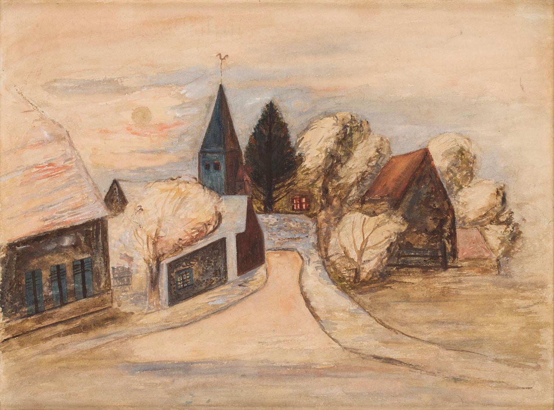 """""""Pejzaż z Normandii"""", 1926-27"""