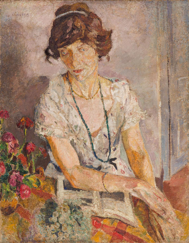 """""""Portret damy"""", około 1922"""