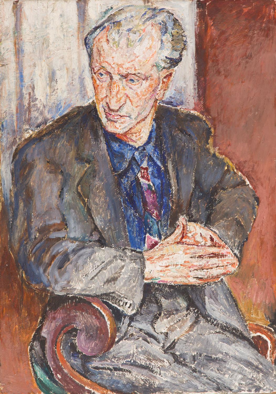 """""""Portret mężczyzny"""" (Maurice Ravel), lata 20. XX w."""