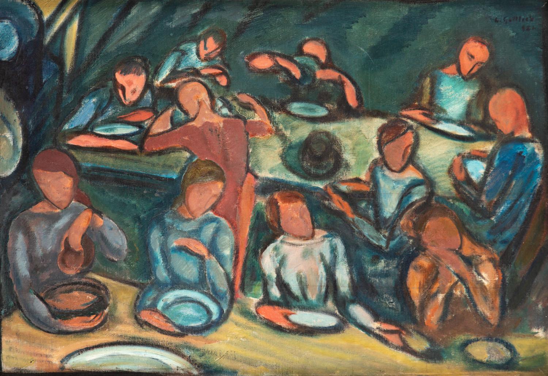 """""""Wieczerza rybaków"""", 1921"""