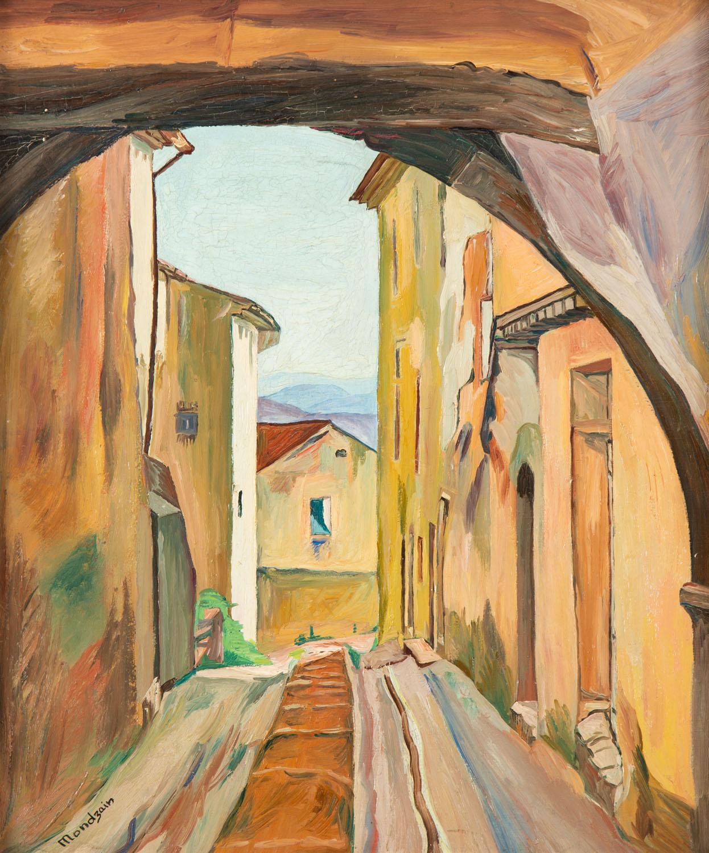"""""""Uliczka w Solliès-Ville"""" (""""Une Rue à Solliès-Ville"""")"""