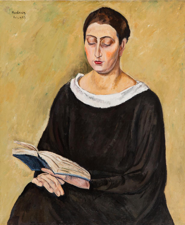 Czytająca, 1923
