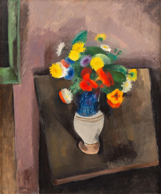 Martwa natura z wazonem z kwiatami, 1915