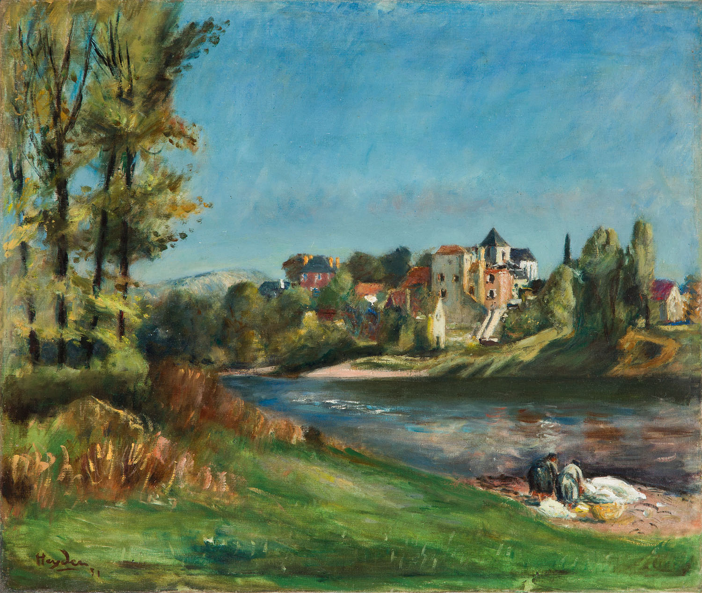 """""""Praczki nad Dordonią w Meyronne"""", 1931"""