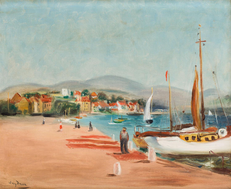 Port w Sanary, około 1935