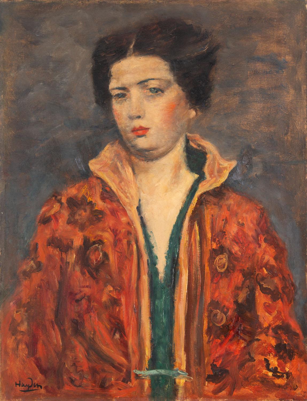 Portret damy, lata 30. XX w.