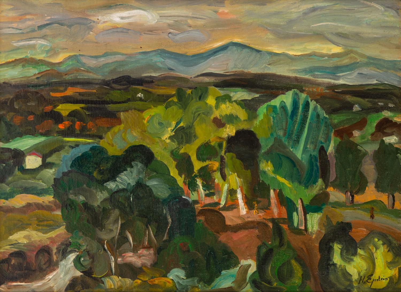 Pejzaż prowansalski, około 1920