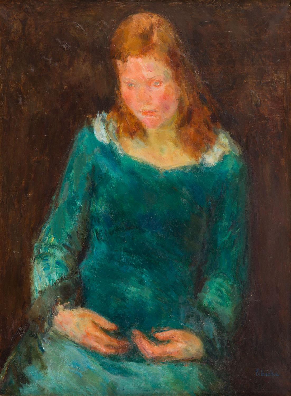 Portret dziewczyny, około 1930