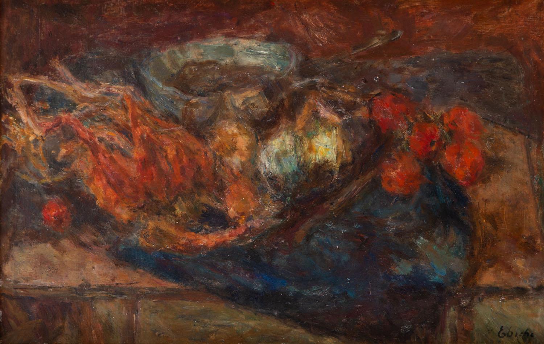 """""""Martwa natura z bażantem i pomidorami"""", około 1930"""