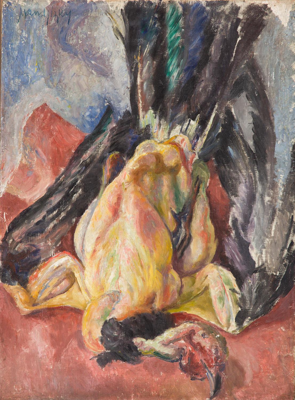 Martwa natura z perliczką, przed 1937