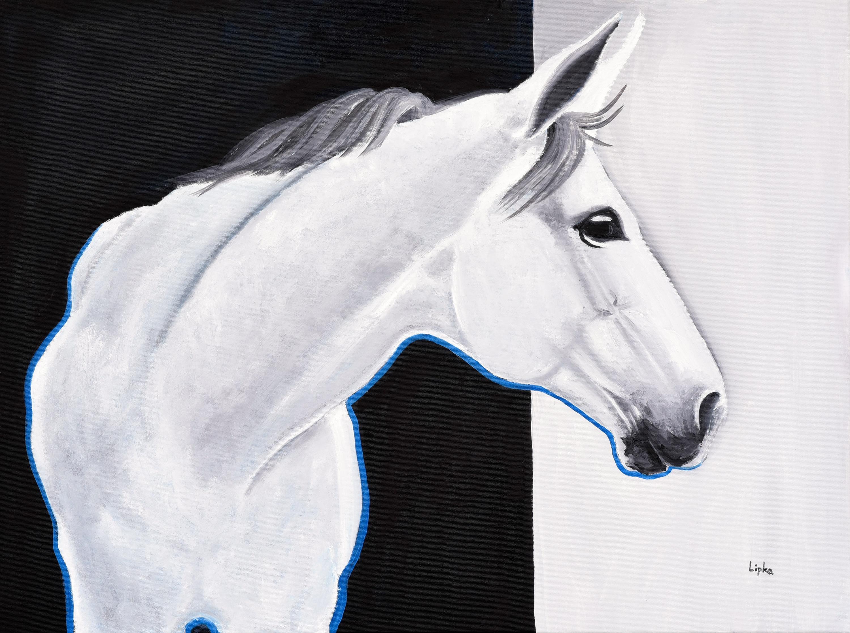 Biały koń, 2021