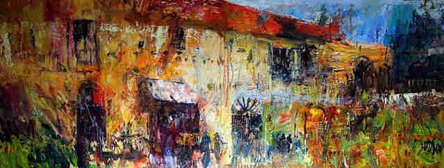 Zapomniane domy, Toskania, 2020