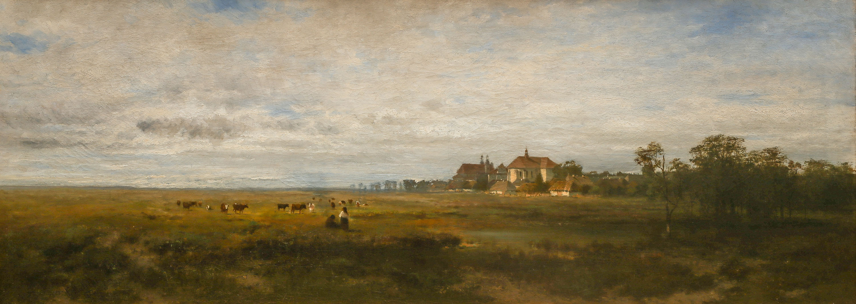 Przedmieścia Krakowa, 1872 r.