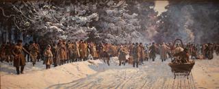 Wyjazd na polowanie, 1898 R.