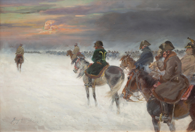 Odwrót Napoleona spod Moskwy, 1936 r.
