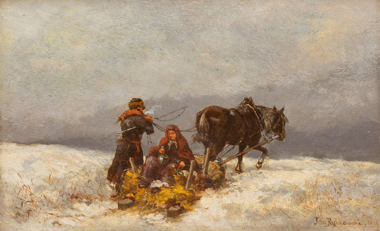 W drodze - zima