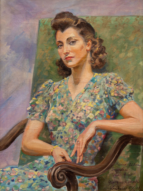 Portret Trude Geyer, 1940 r.