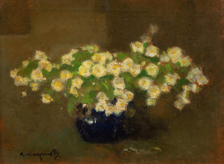 Białe kwiaty, przed 1949 r.