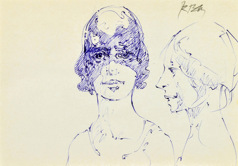 Szkice popiersia kobiet