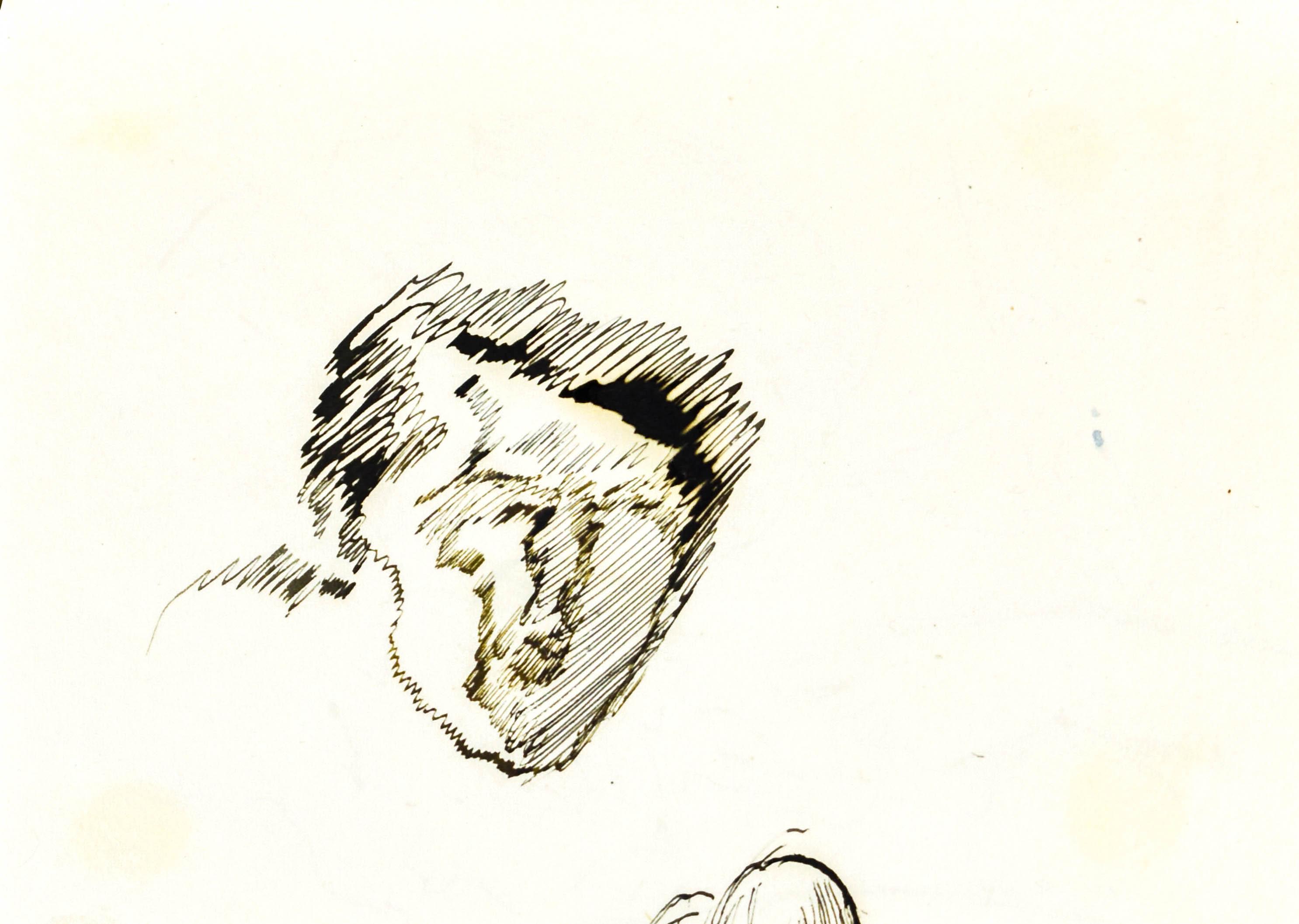 Szkic głowy