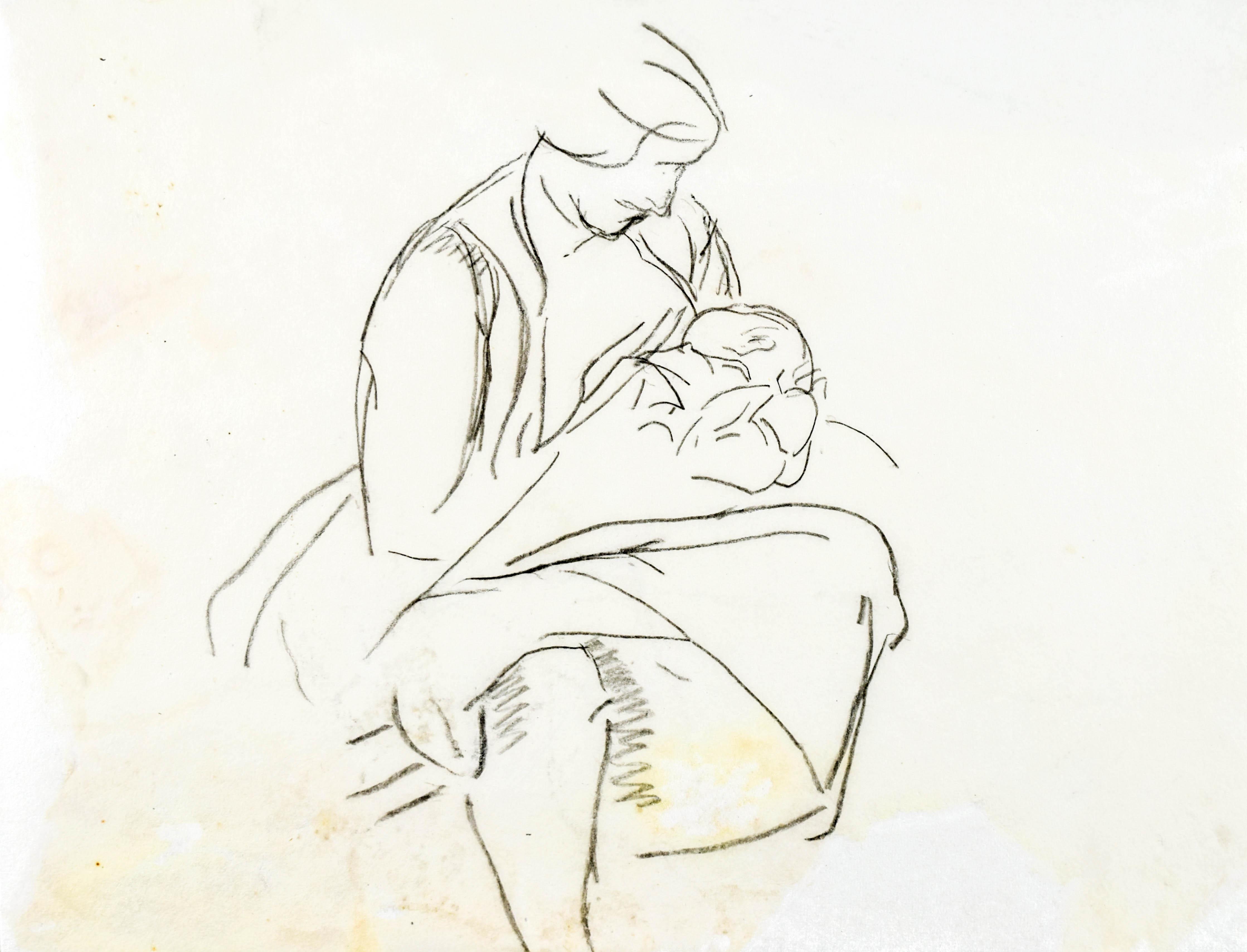 Kobieta trzymająca dziecko