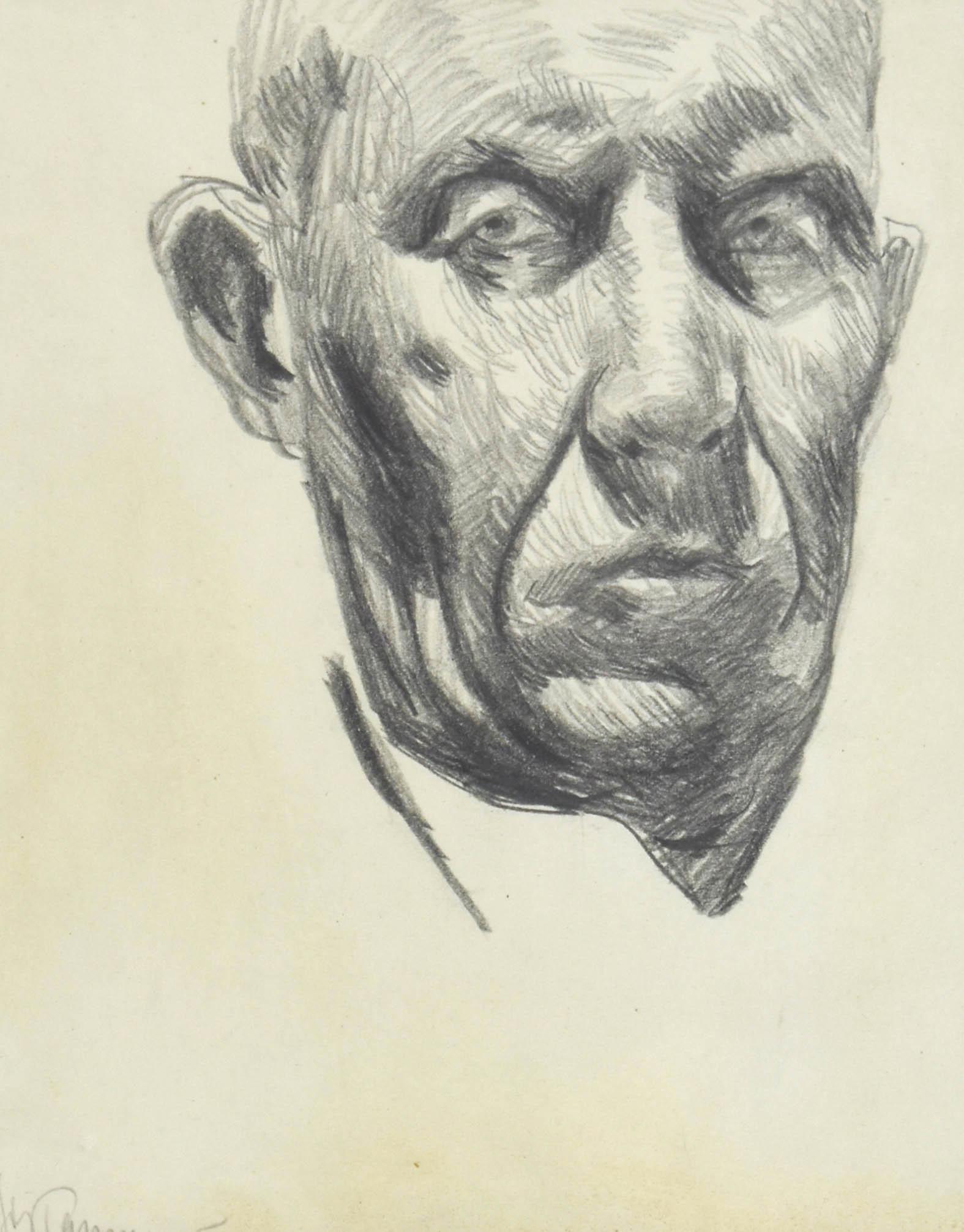 Autoportret - głowa artysty