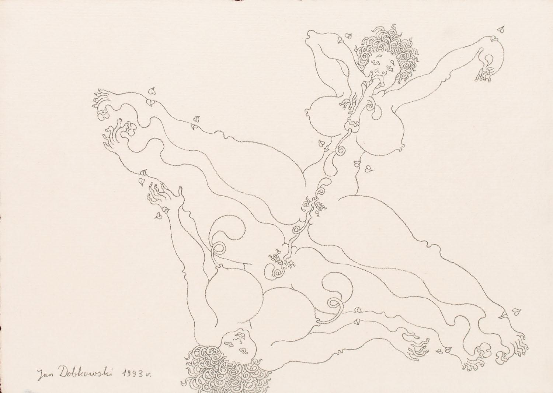 Rysunek erotyczny, 1993