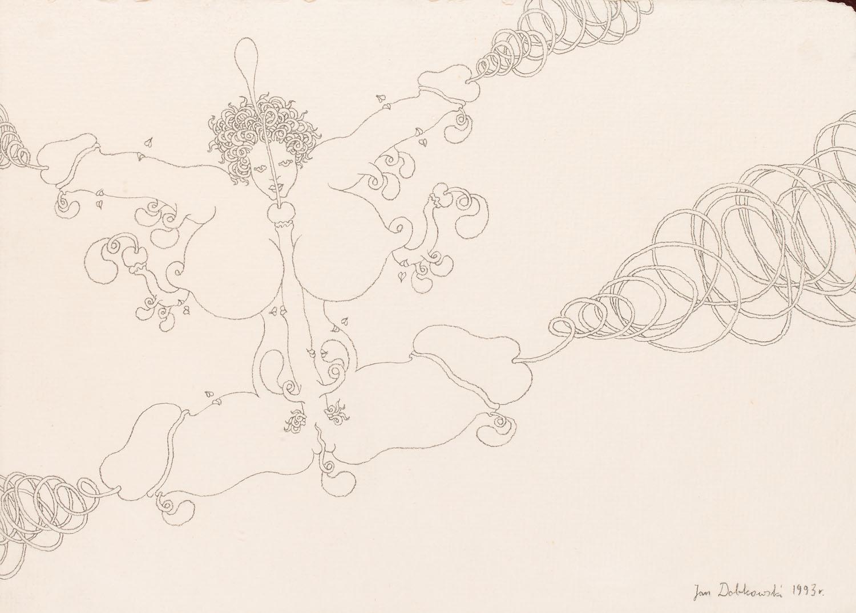 Rysunek erotyczny , 1993