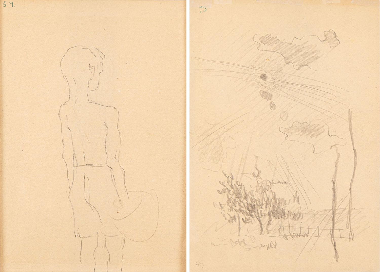 Chłopiec z garnkiem, 1949
