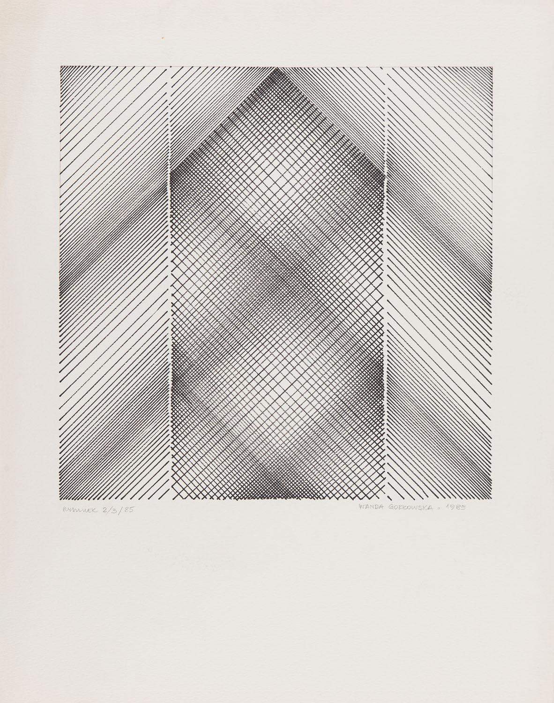 """""""Rysunek 2/3/85', 1985"""