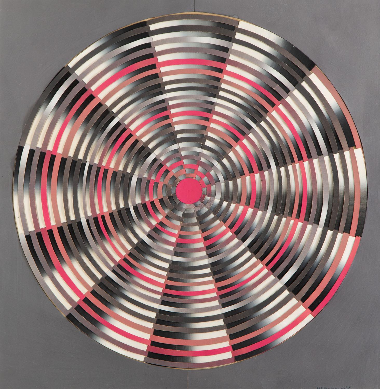 """""""Ruch spiralny czerwonego światła"""", 1967"""