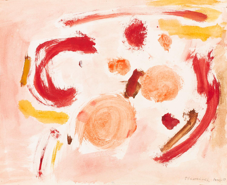 kompozycja abstrakcyjna , 1959