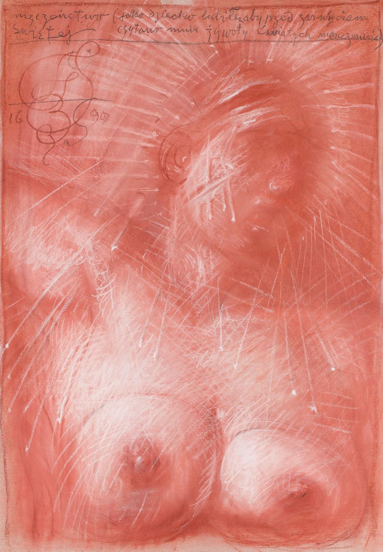 """""""Męczeństwo Świętej"""", 1990"""