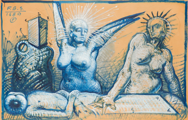 """""""Les 4 Caracteres"""" (""""4 temperamenty""""), 1989"""