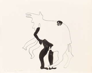Rysunek , 1965