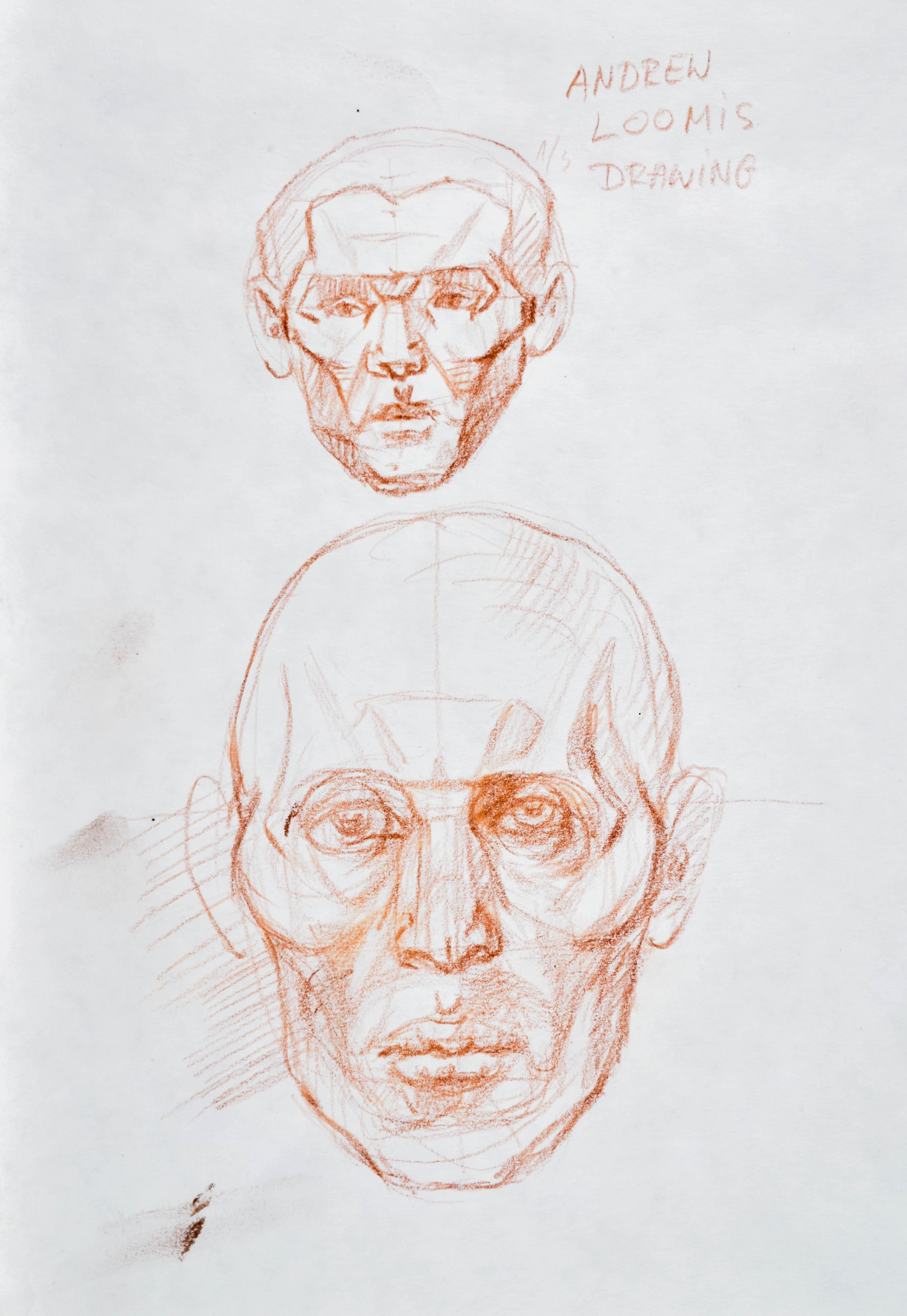 Szkice głów