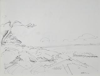 Pejzaż nadmorski I - Nicea, 1923