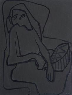 Kobieta w fotelu (1950)