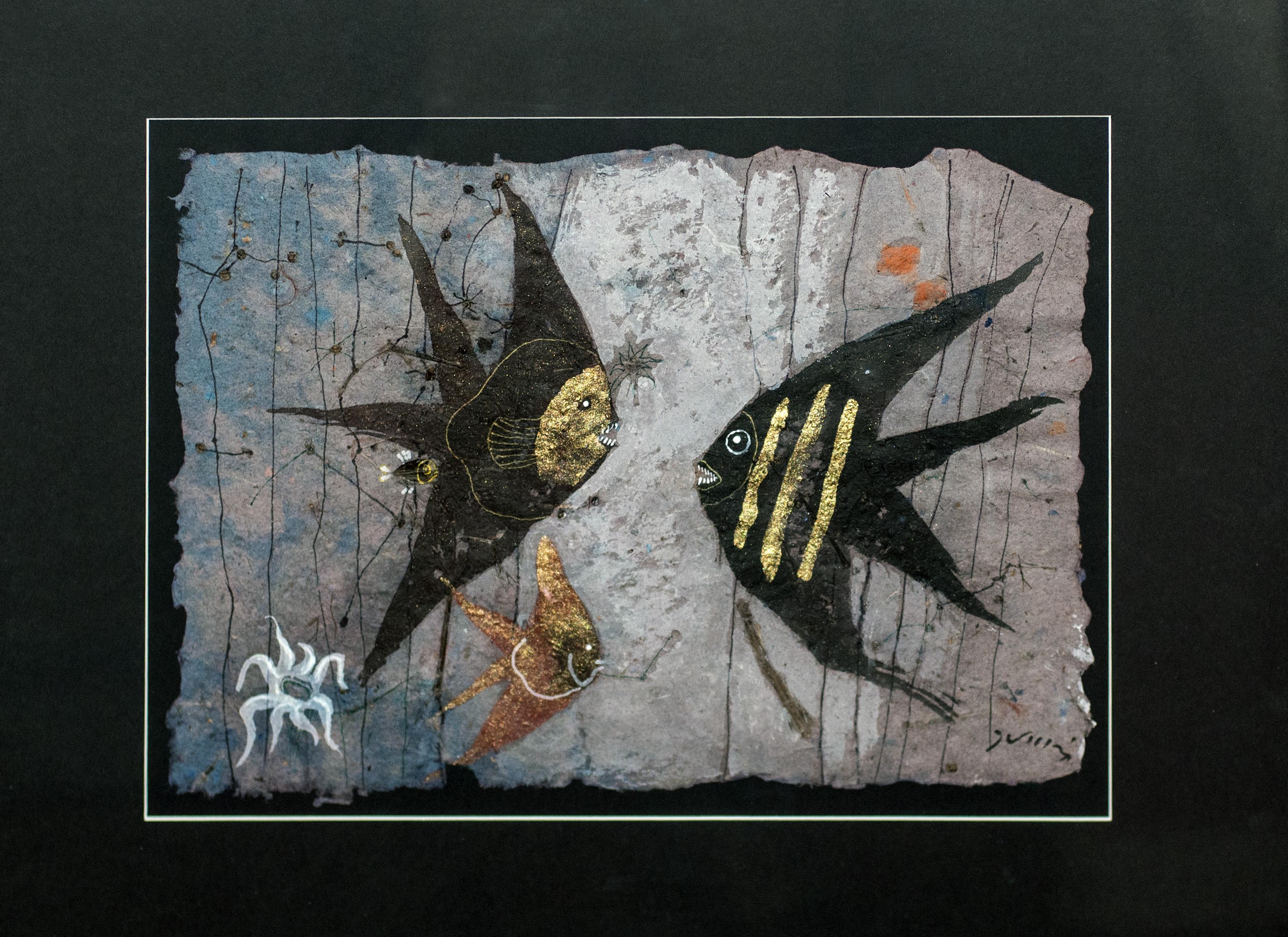 """Ryby-czarne skalary"", 2018"