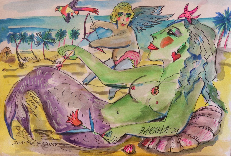 """""""Syrena i Amor na Goa"""",2021"""