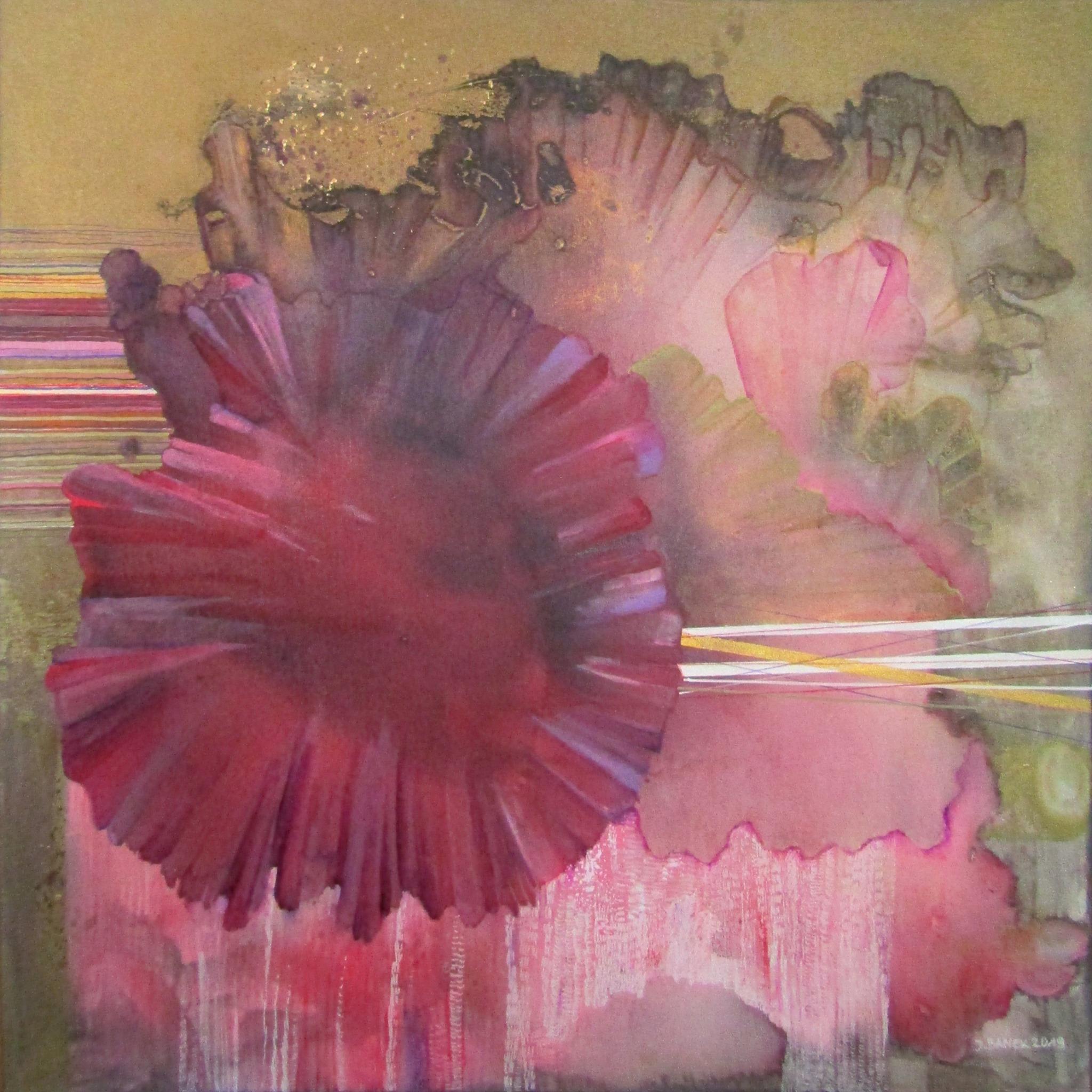 """Purpura"" z cyklu ""Botanica"", 2019"