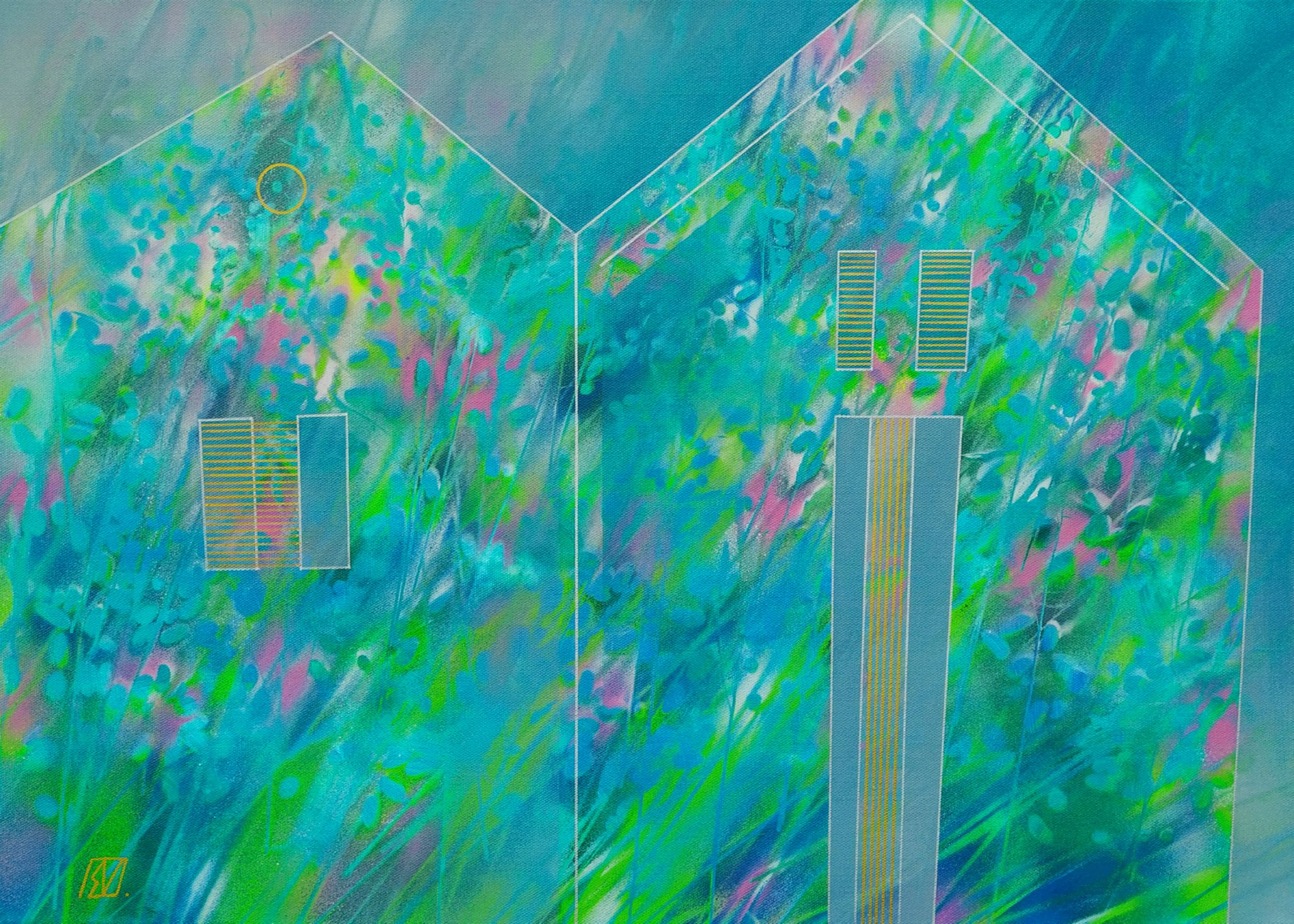"""""""Windy Grass Houses"""", 2020"""