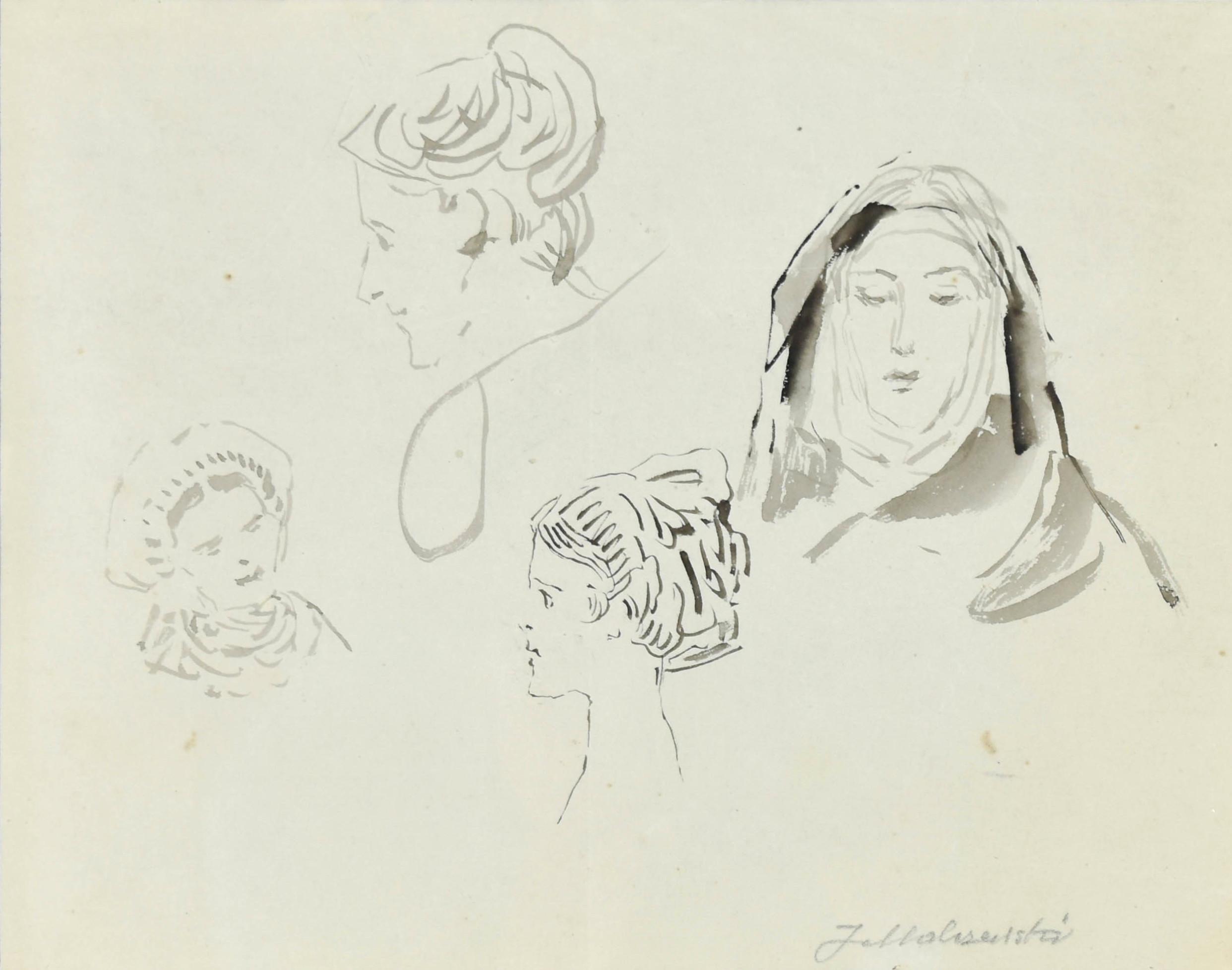 Głowy kobiet
