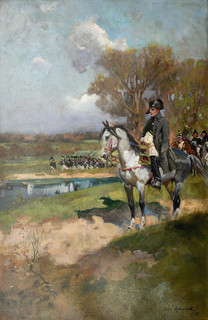 Napoleon na czele wojsk, 1930