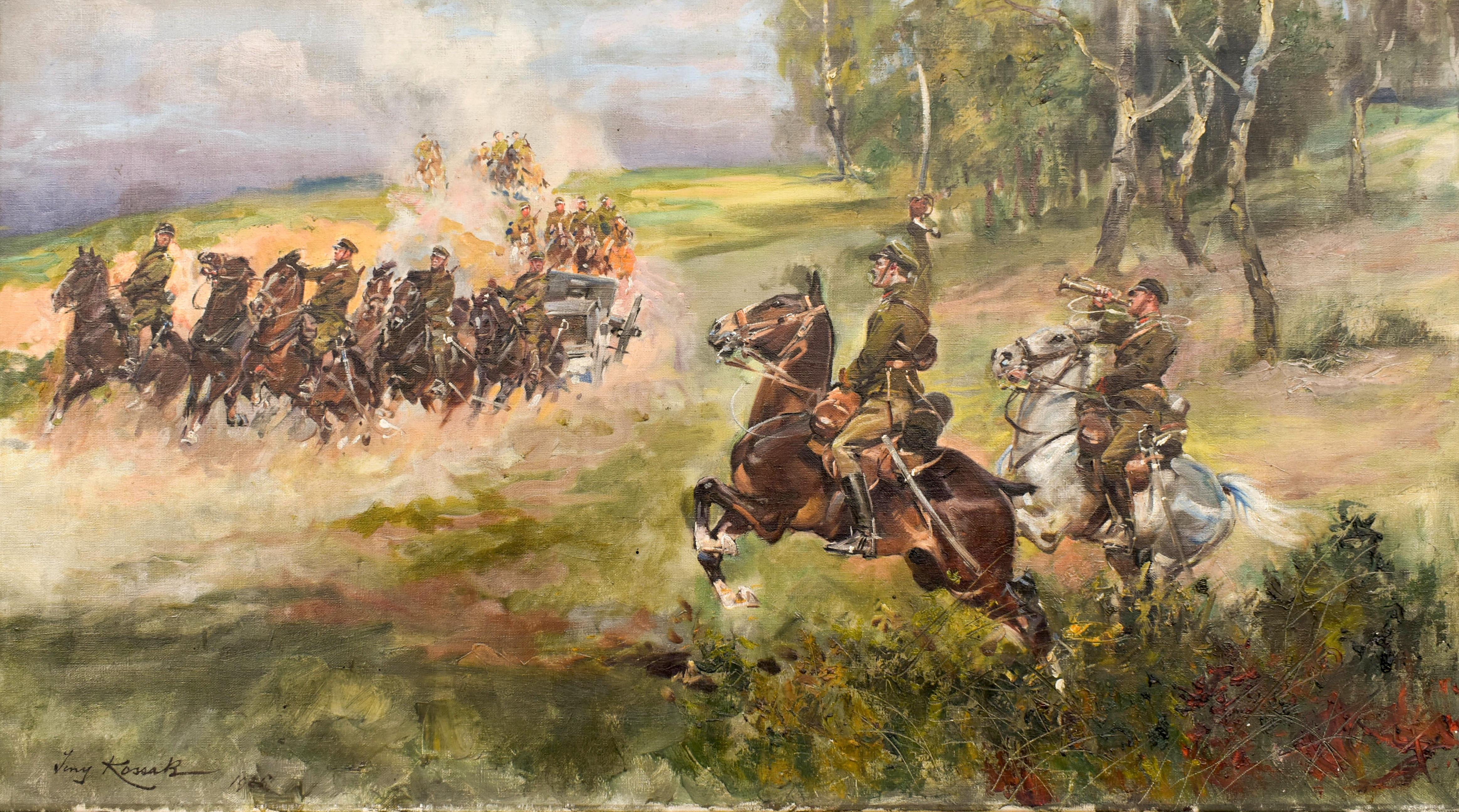 Artyleria jedzie, 1926