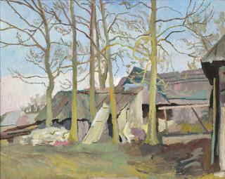 Zagroda góralska, ok. 1920