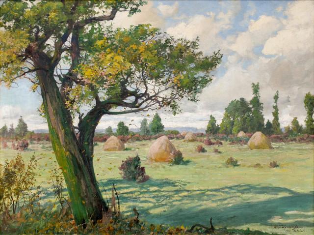 Pejzaż - koniec lata, 1916