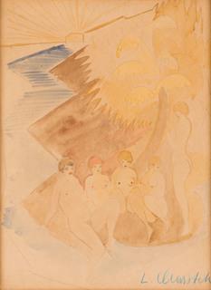 Kobiety nad wodą, lata 30. XX w.