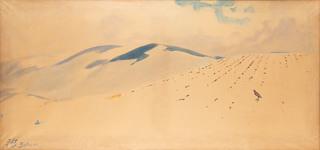 Pejzaż zimowy z Bystrej, 1921
